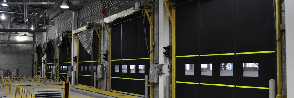 Custom Industrial & Commercial Garage Doors